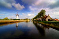 Damme Canal near Bruges